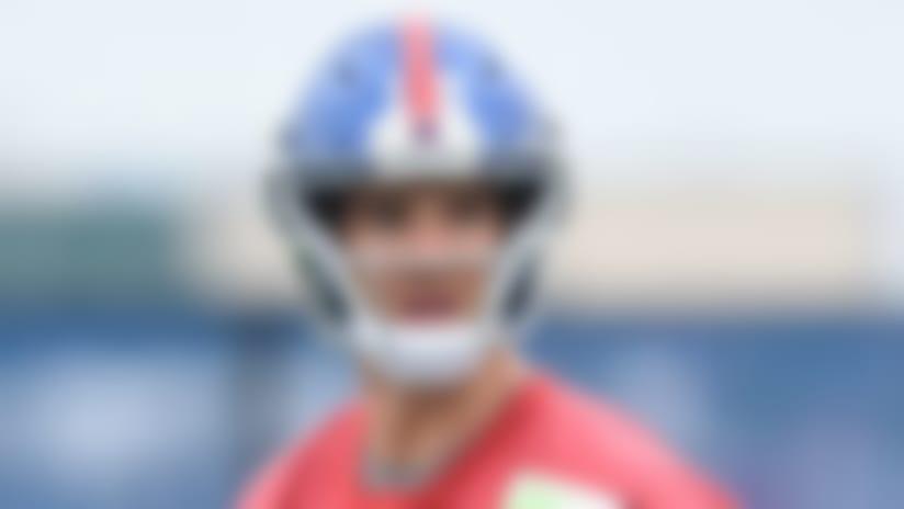 Giants' Eli Manning begins season 'a little nervous'