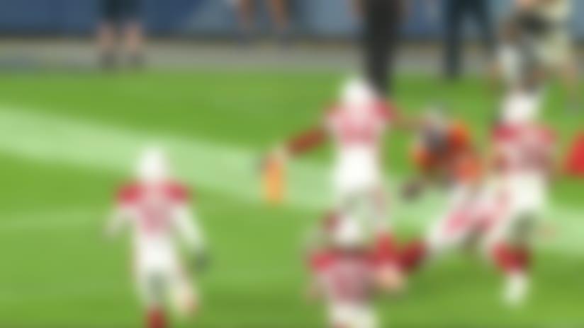 Khalfani Muhammad's 49-yard run ends with odd fumble off pylon