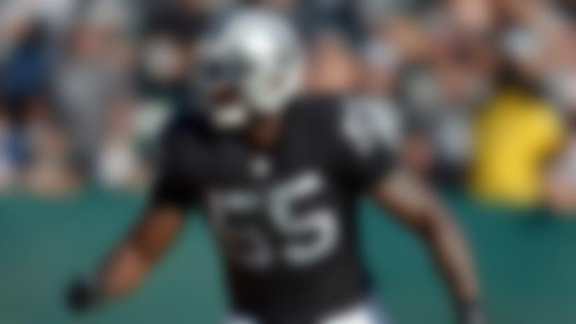 Rolando McClain returns to practice for Oakland Raiders