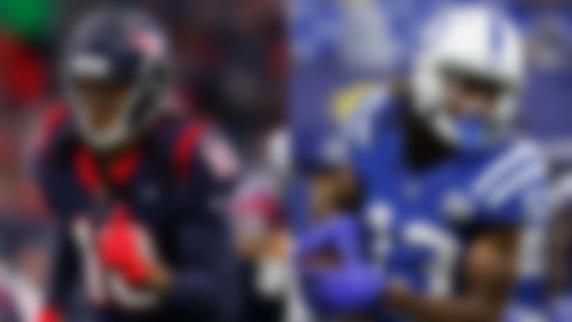 DeAndre Hopkins and T.Y. Hilton