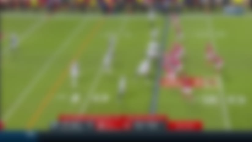 Chiefs win challenge for defensive PI to negate Trayvon Mullen's INT