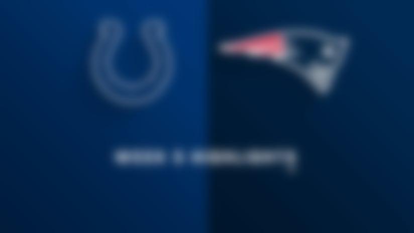 Colts vs. Patriots highlights | Week 5