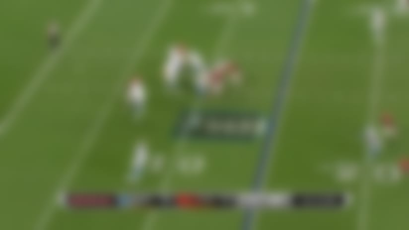 Can't-Miss Play: James Willliams completely CLEARS Browns defender on hurdle
