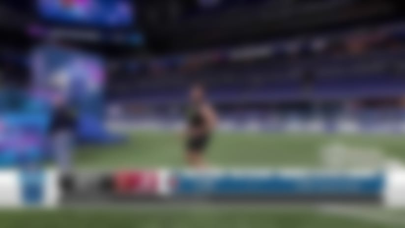 Jedrick Wills Jr.'s 2020 NFL Scouting Combine workout