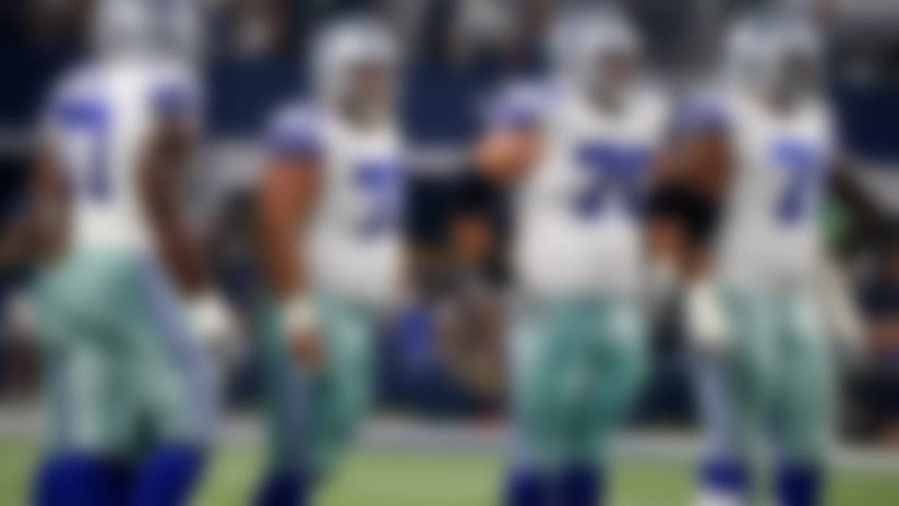 New O-line pieces, slower Elliott hurting Cowboys' running game