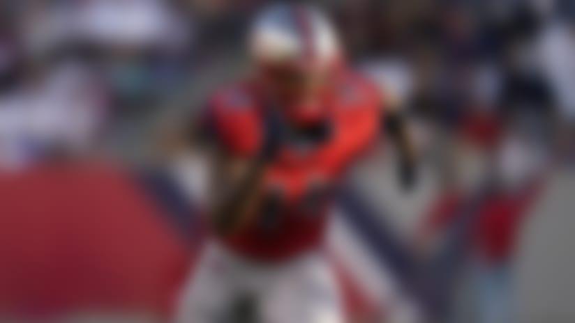 Houston Roughnecks wide receiver Cam Phillips (14) runs a pass route during an XFL football game, Saturday, Feb. 8, 2020, in Houston. (AP Photo/Matt Patterson)
