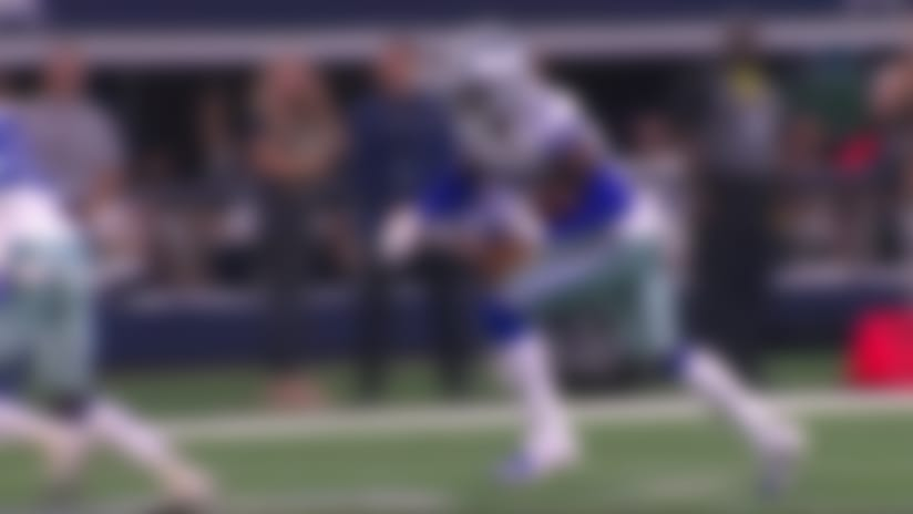Donovan Wilson swoops in for another Cowboys interception