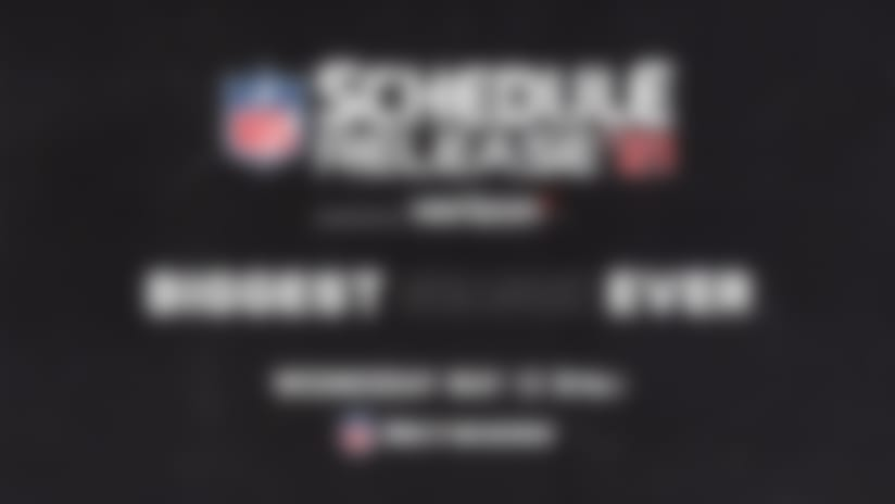 NFL Schedule Release | May 12 8PM ET