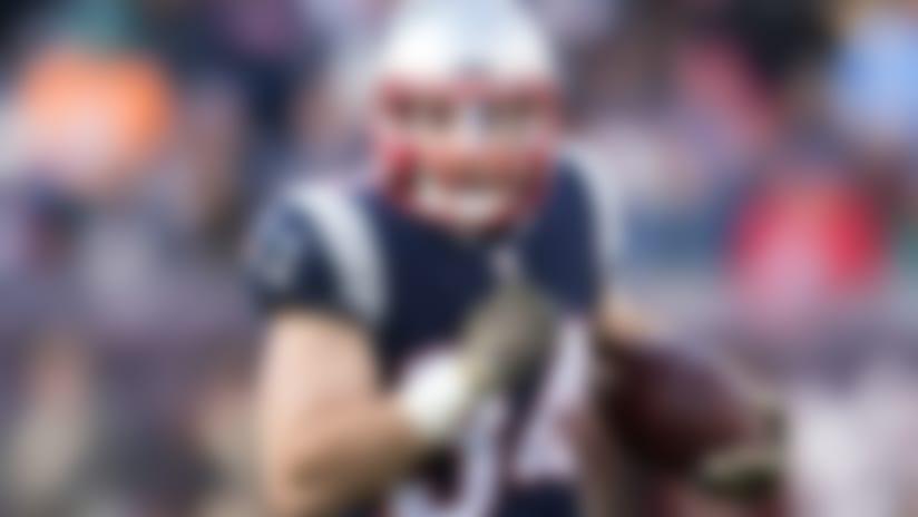 Injuries: Patriots RBs Gillislee, Burkhead inactive