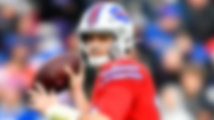 Buffalo Bills quarterback Josh Allen throws a pass during the second half of an NFL football game against the Baltimore Ravens in Orchard Park, N.Y., Sunday, Dec. 8, 2019. (AP Photo/Adrian Kraus)