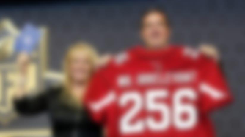 Cardinals select Gerald Christian as 'Mr. Irrelevant'