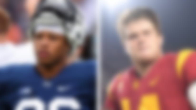 Scouts concerned about hits for Saquon Barkley, Darnold's picks