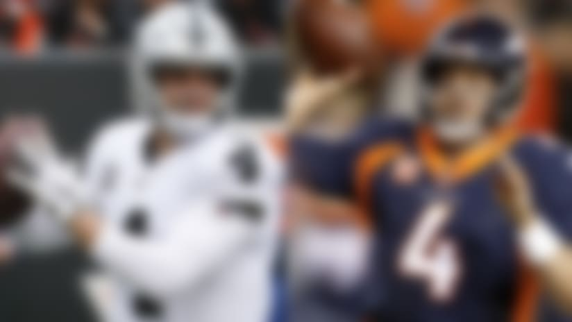 MNF projections for Denver Broncos-Oakland Raiders in Week 16 | NFL Fantasy Live