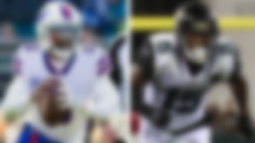 Split of Tyrod Taylor and Allen Robinson