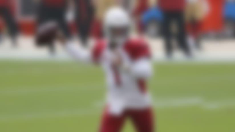 Arizona Cardinals quarterback Kyler Murray (1) passes against the San Francisco 49ers during the first half of an NFL football game in Santa Clara, Calif., Sunday, Sept. 13, 2020. (AP Photo/Josie Lepe)