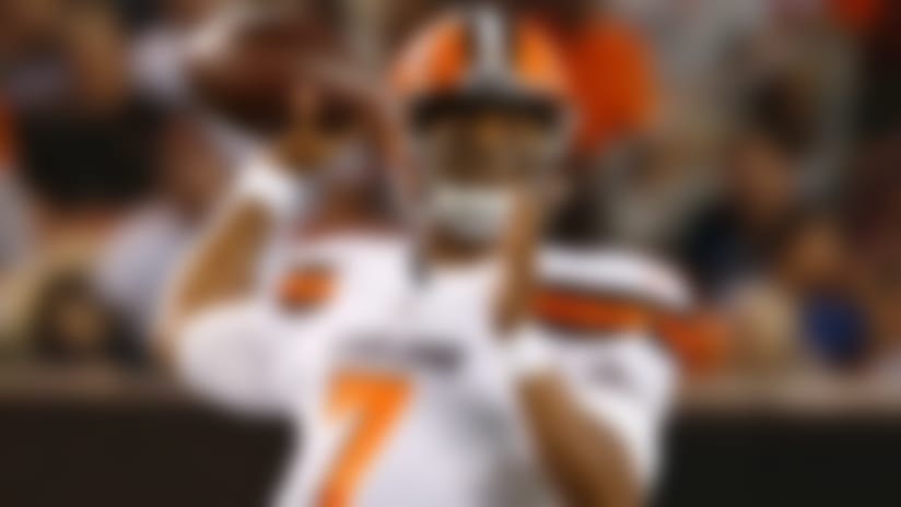 DeShone Kizer launches Browns to win over Saints