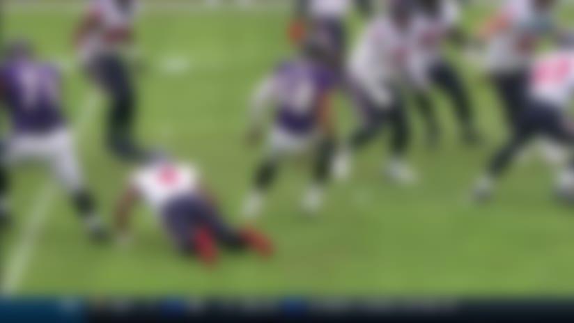 Ravens intercept Deshaun Watson's cross-body throw