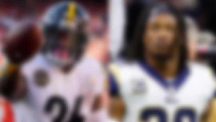Le'Veon Bell and Todd Gurley