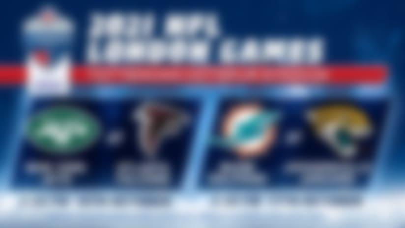 Ticket details confirmed for 2021 NFL London Games