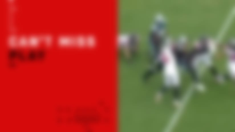 Can't-Miss Play: Falcons kicker lowers BOOM for big tackle