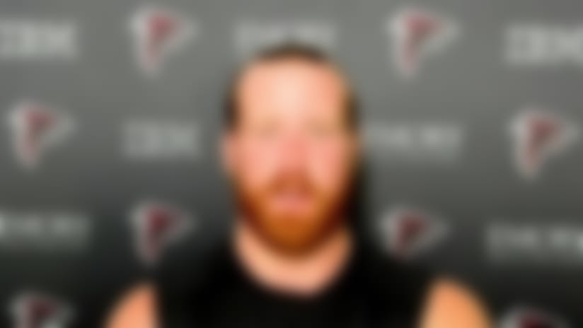 Hayden Hurst: Falcons offense is a 'perfect fit' for me