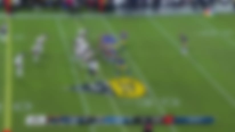 Deja Vu! Roquan Smith picks off Jared Goff for second season in a row