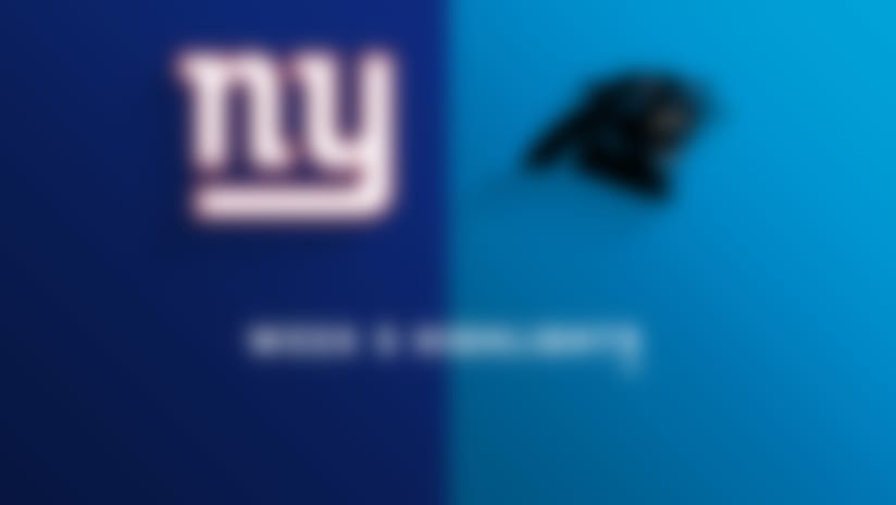 Giants vs. Panthers highlights | Week 5