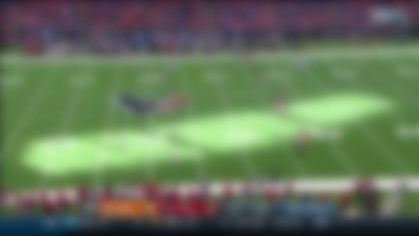 Texans' onside kick succeeds after Broncos' mishap