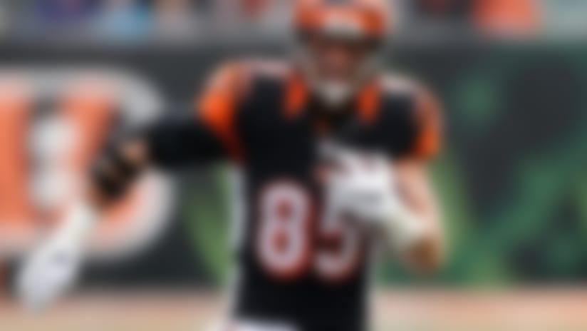 Bengals' Tyler Eifert (ankle) targeting Week 4 return