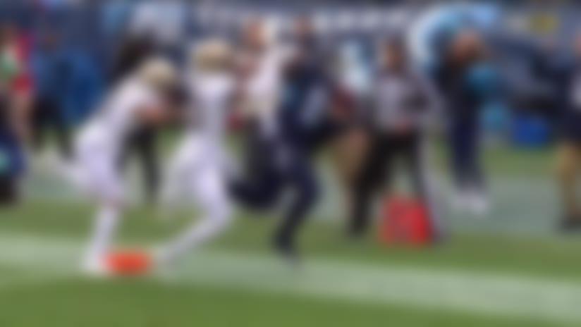 Jonnu Smith weaves through Saints' D for 41-yard TD catch and run
