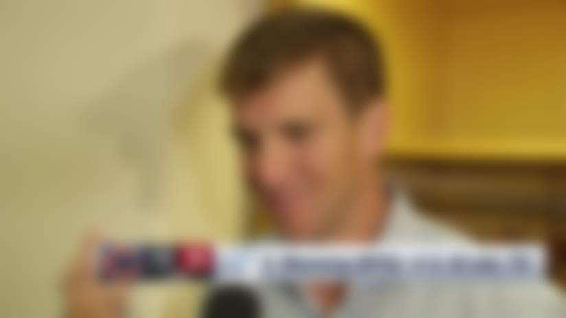 New York Giants quarterback Eli Manning recaps his perfect preseason Week 2 performance