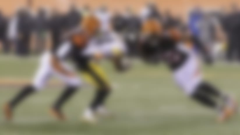 A hit by Burfict (55) on Antonio Brown overshadowed an otherwise strong playoff performance by the linebacker.