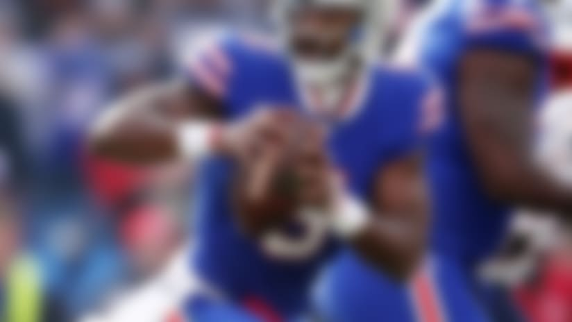A graphic image of Bills Tyrod Taylor