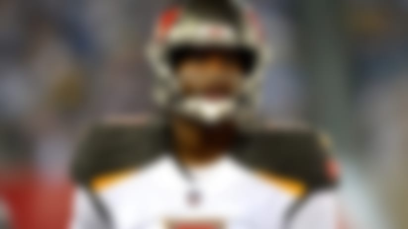 Tampa Bay Buccaneers quarterback Jameis Winston plays against the Tennessee Titans in the first half of a preseason NFL football game Sunday, Aug. 19, 2018, in Nashville, Tenn. (AP Photo/Mark Zaleski)
