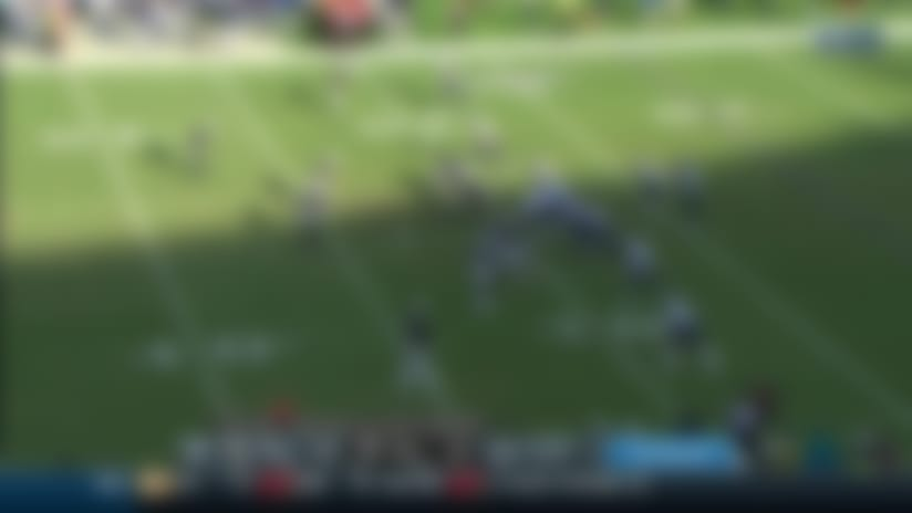 Ryan Tannehill threads needle on 39-yard laser to Anthony Firkser