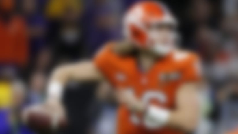 Clemson quarterback Trevor Lawrence led his team to a national title as a true freshman before helping the Tigers get back to the national championship game last season.