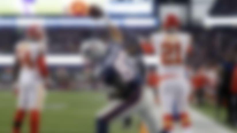 Gronkowski strikes twice as Patriots outlast Chiefs