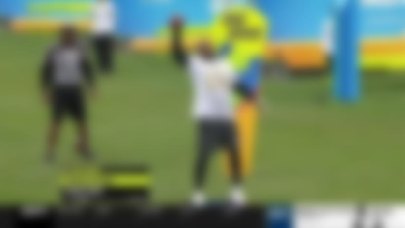 Cordarrelle Patterson competes in 'Best Hands' challenge   2020 Pro Bowl Skills Showdown