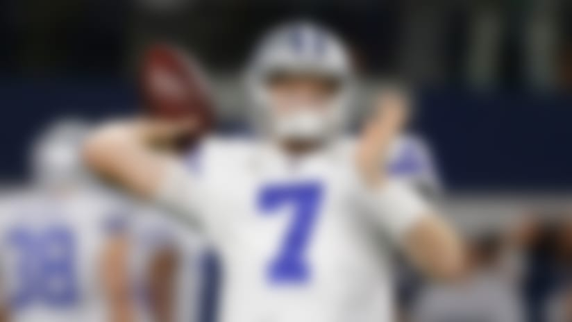 Giants claim ex-Cowboys QB Cooper Rush off waivers