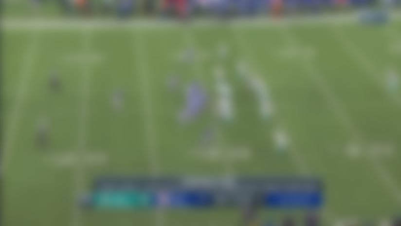 Eli Manning connects 26 yards downfield on play action to Darius Slayton