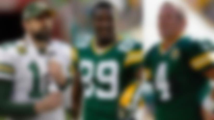 Aaron Rodgers, Brett Favre among James Jones' top NFL teammates