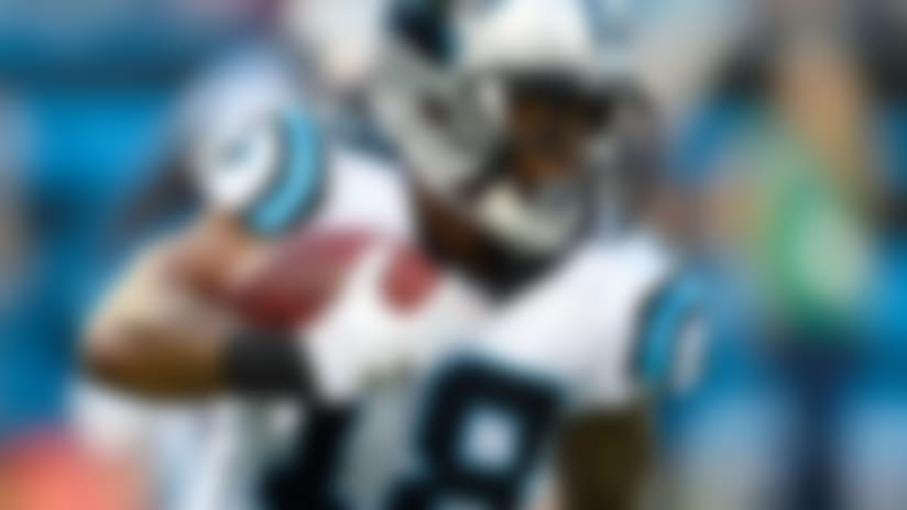 Damiere Byrd makes case as Panthers' deep threat
