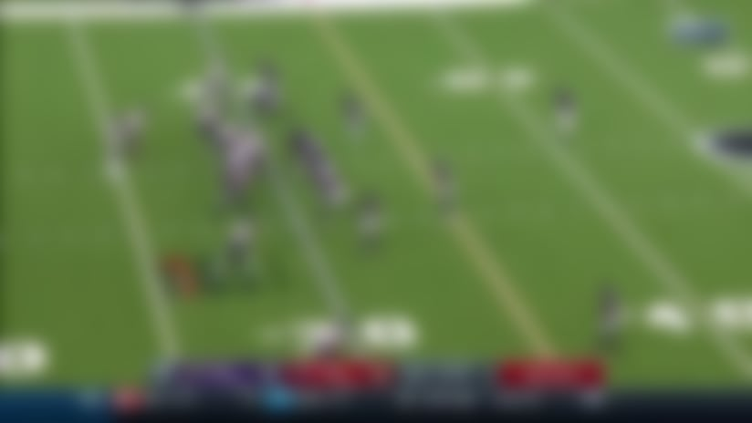 Watson swarmed in pocket for Baltimore's fourth sack of game