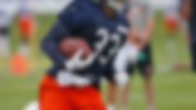 Injuries: Jeremy Langford (ankle) misses practice