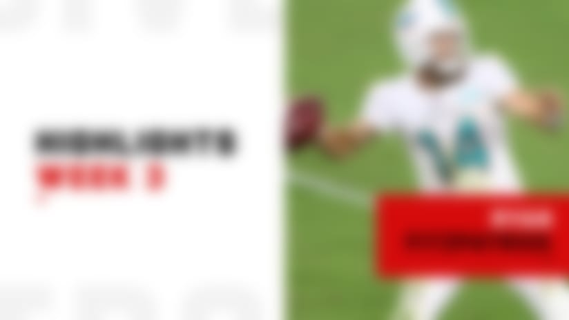 Every consecutive completion from Ryan Fitzpatrick's hot start | Week 3