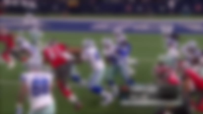 Tyvis Powell gets second tipped interception for Cowboys