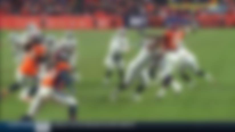 Deja vu for Broncos! Shelby Harris repeats history on game-sealing play vs. Raiders