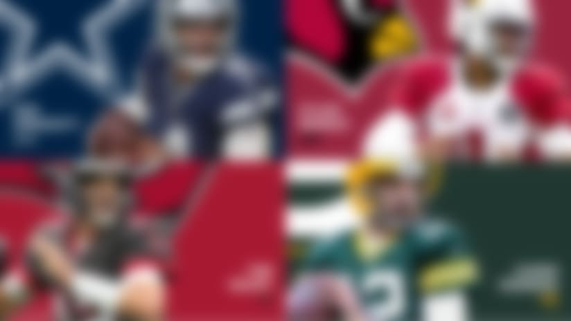 Rankings for every team's QB