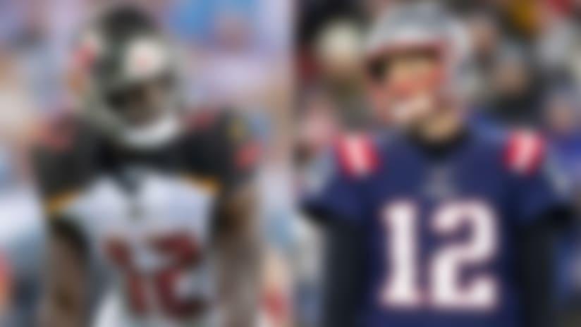 Godwin 'passionate' about No. 12, defers to Tom Brady