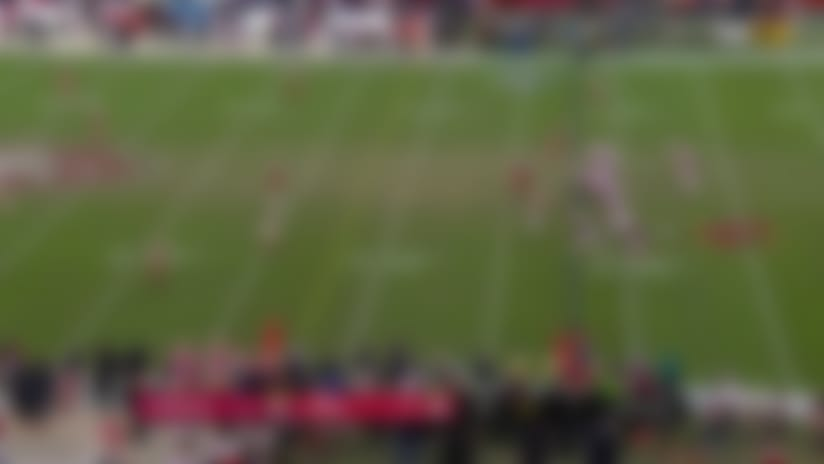 Cards' last play lateral attempt ends in chaotic TD for Niners